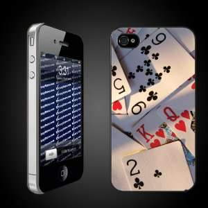Fun iPhone Case Designs   Poker Cards CLEAR Protective