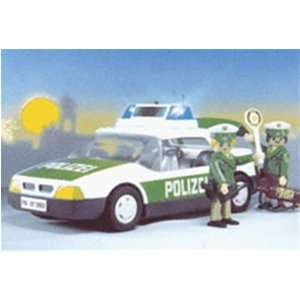 Playmobil Police Car   Green: Toys & Games