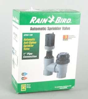 RAIN BIRD Automatic Sprinkler Valve Anti Siphon Breaker APAS 100