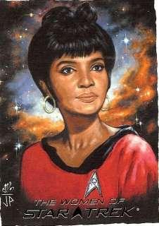 2010 Women of Star Trek Artifex Lt. Uhura