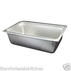 NEW 6 DEEP FULL SIZE STEAM TABLE FOOD PAN ANTI JAM