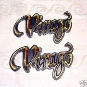 Yamaha Virago XV 250 400 535 Tank Emblem Badge Decal e
