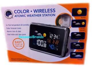 La Crosse Technology Color Wireless Atomic Clock Weather Station