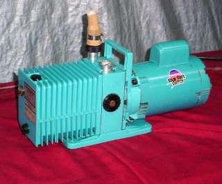 Precision Alcatel 2008a DD195 Rotary Vane Vacuum Pump