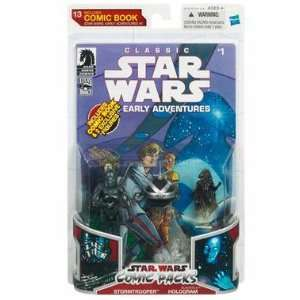 Star Wars 2009 Comic Book Action Figure 2Pack Dark Horse Classic Star